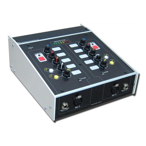 Glensound Express ip Two User Commentary Unit With Dante Front Angled