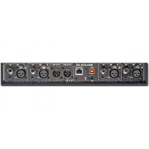 Glensound GS-GC5/USB - USB Audio Interface & 4ch Mixer with Luci Live IP Codec for laptop PCs