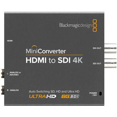 Blackmagic Design Mini Converter HDMI to SDI 4K Top