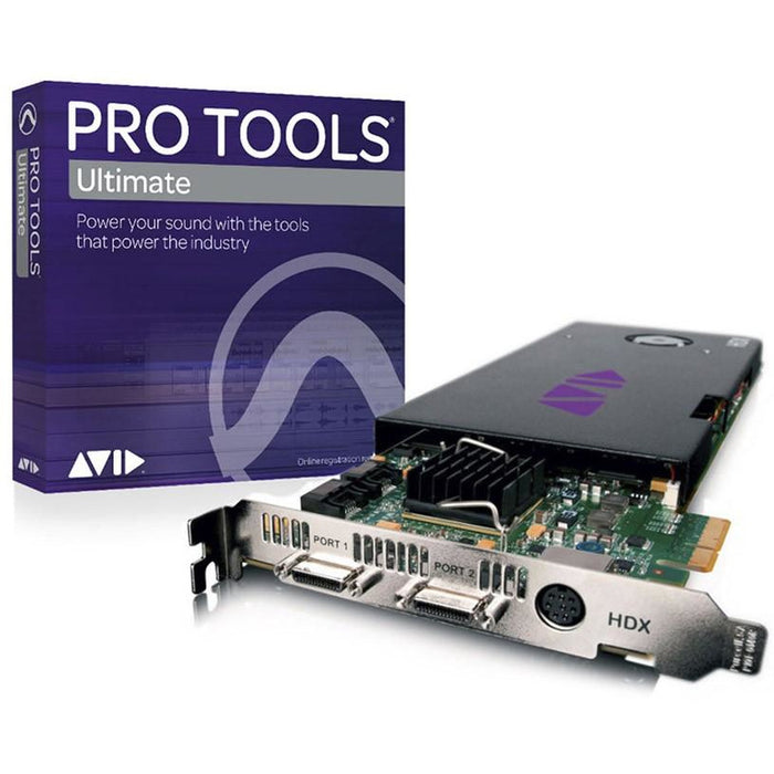 Pro Tools HDX Core with Pro Tools HD Ultimate Perpetual License