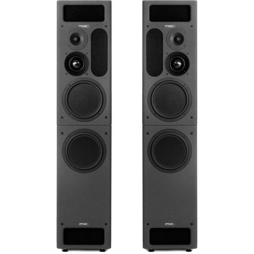 PMC IB2S XBD-A - Active Studio Monitors with Sub in Neo Black - Pair Front