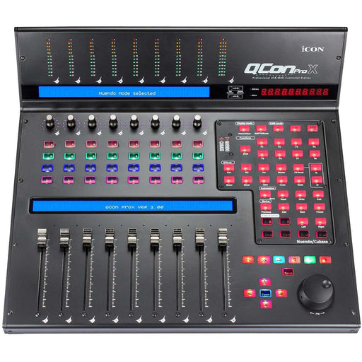 Icon QCon Pro X - 8+1 Fader Motorised Control Surface
