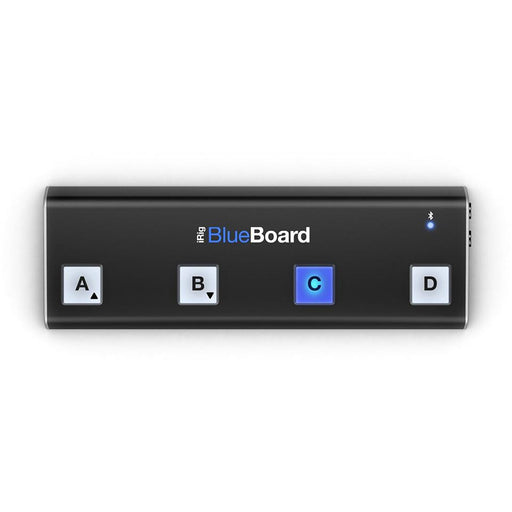 IK Multimedia BlueBoard - Bluetooth MIDI Pedalboard Controller for iOS & Mac Top