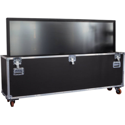 "Promethean ACTIVpanel Touch 84"" V4 4K Android - touchscreen Inc Flightcase on Castors - B-Stock"