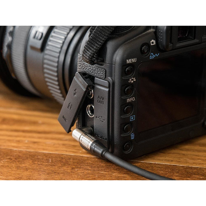 Studiocare Coiled DSLR Camera Microphone Cable - Made with Kalestead Premium Grade Cable