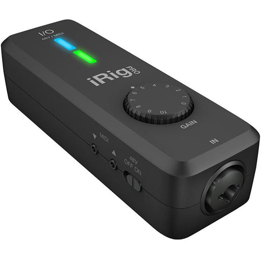 IK Multimedia iRig Pro I/O Audio/MIDI interface