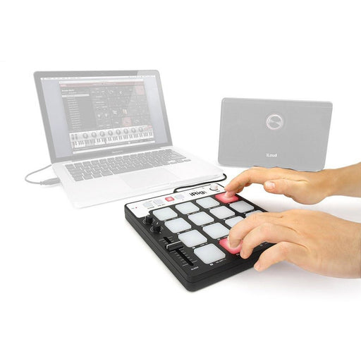 IK Multimedia iRig Pads - MIDI Pad Controller for iOS & Mac/PC. Incl. Lightning, USB cables