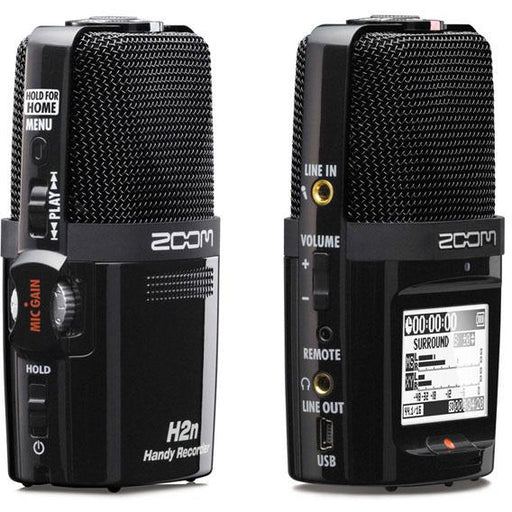 Zoom H2N Digital Handheld Stereo Field Recorder
