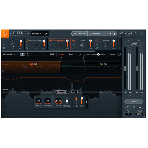 iZotope Neutron 3 Advanced Mixing Console - Download