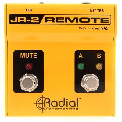 Radial Engineering JR2 - Remote Control for A/B Input Select and Mute