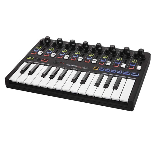 Reloop KeyFadr - MIDI Controller with Faders & Keyboard. Inc. Ableton Live 9 Lite