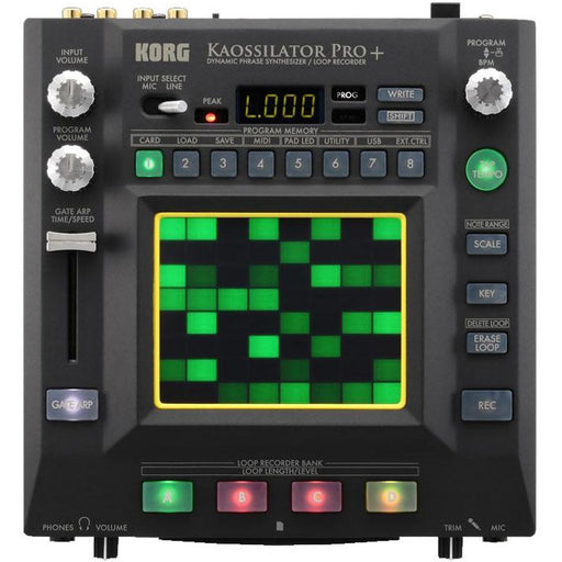 Korg Kaossilator Pro+ - Dynamic Phrase Synthisizer/Loop Recorder
