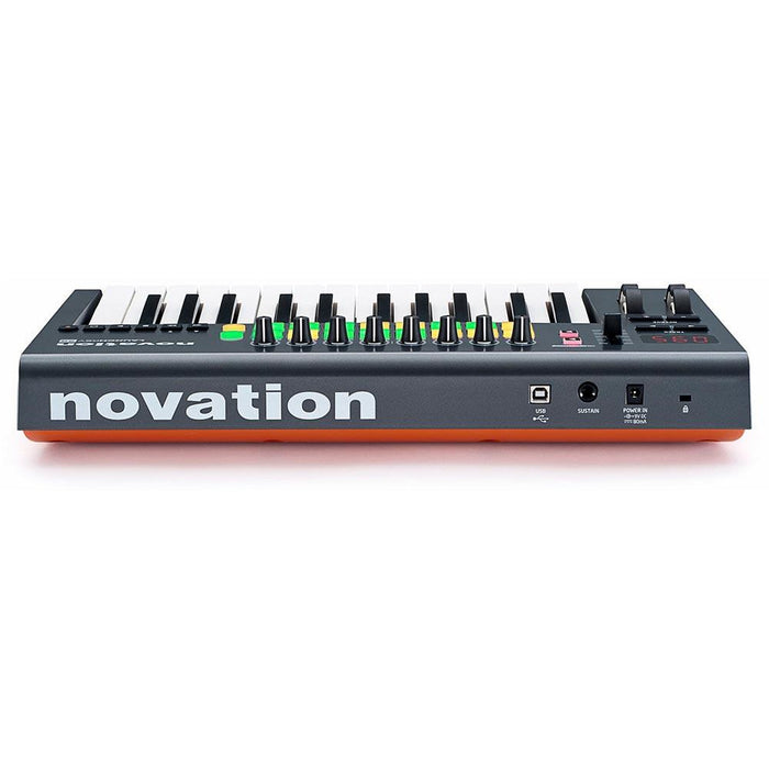 Novation LaunchKey 25 MK2 - 25 Key Keyboard Controller with 16 RGB Launch Pads