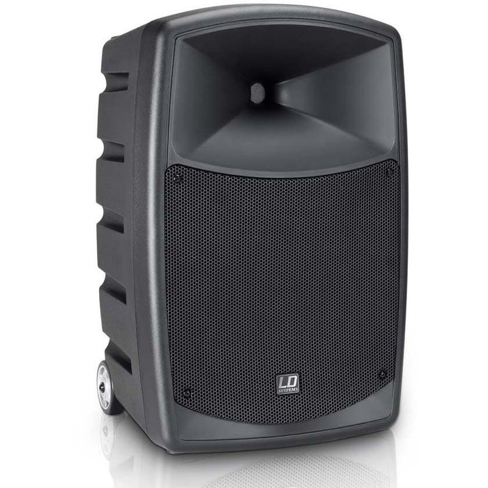 LD Systems Roadbuddy 10 - Battery Powered Bluetooth Speaker with Mixer & Wireless Mic