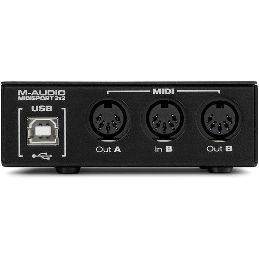 M-Audio MIDISPORT 2x2 Anniversary Edition - 2-In/1-Out MIDI Interface