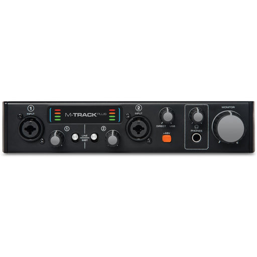 M-Audio M-Track Plus II - Two-Channel USB Audio/MIDI Interface Front
