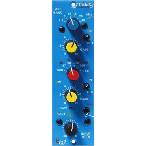 Maag EQ2 - 500-Series 2-Band EQ Front