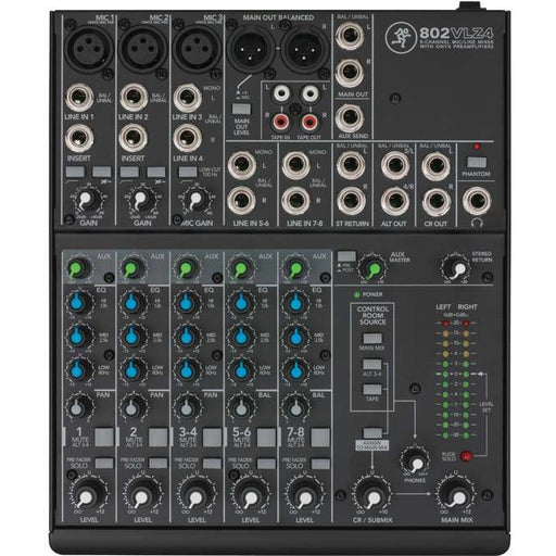 Mackie 802-VLZ4 - 8-Channel Ultra Compact Mixing Desk
