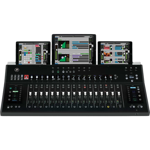 Mackie DC-16 AXIS System Control Surface Front (iPad NOT included)