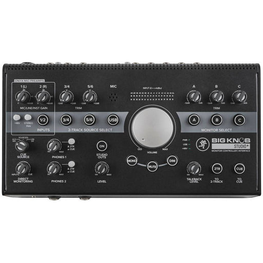 Mackie Big Knob Studio Plus - 4x3 Monitor Controller / Audio Interface
