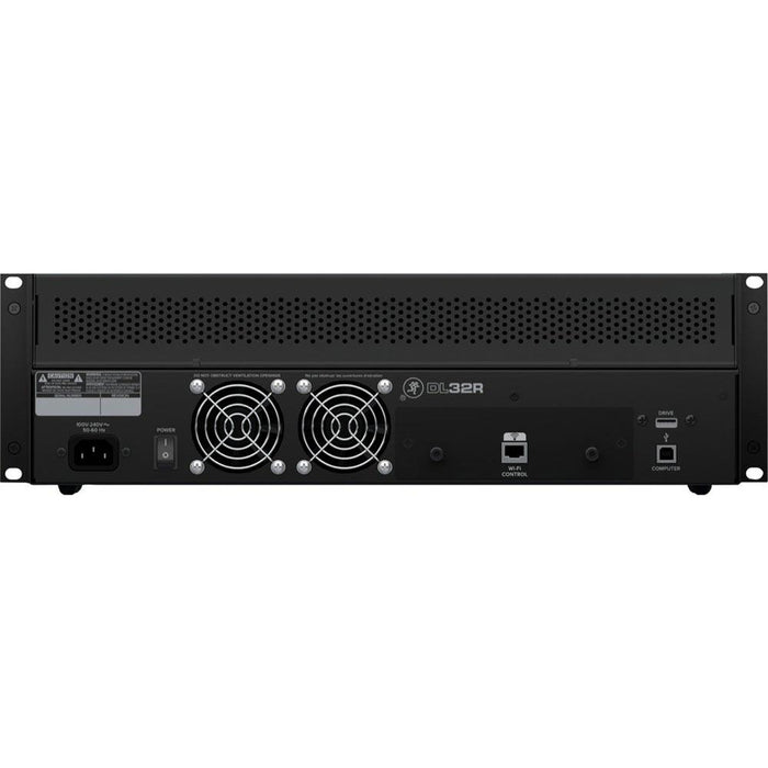 Mackie DL32R - 32-in, 14-out, 3U rackmountable stagebox (B-Stock)