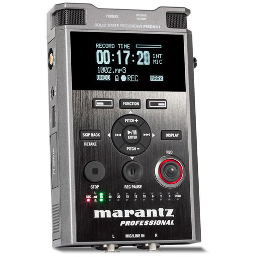 Marantz PMD561 - Handheld Solid-State Recorder