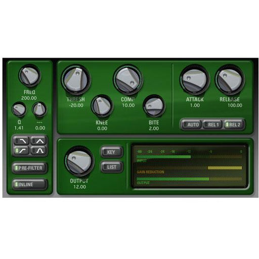 McDSP CompressorBank HD - AAX DSP/Native, TDM, RTAS, AU, AS