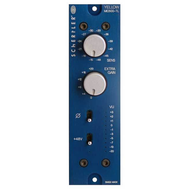 Schertler Y-MIC500-TL - Single channel, Class-A mic preamp, Transformerless