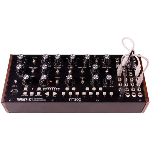 Moog Mother-32 Modular Synthesiser inc. Case and PSU