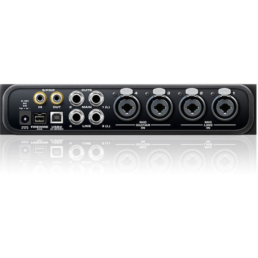 Motu 4Pre - 6x8 Hybrid Audio Interface with 4 Mic Preamps