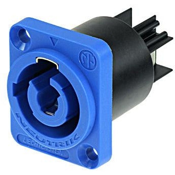 Neutrik NAC3MPA-1 Powercon chassis connector - Blue - Power In