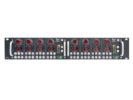 Neve 4081 Quad Mic-Pre x 2 (8-Channel) Inc. Rackmount Kit - B-Stock