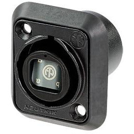 Neutrik OpticalCON QUAD NO4FDW-A Chassis Connector