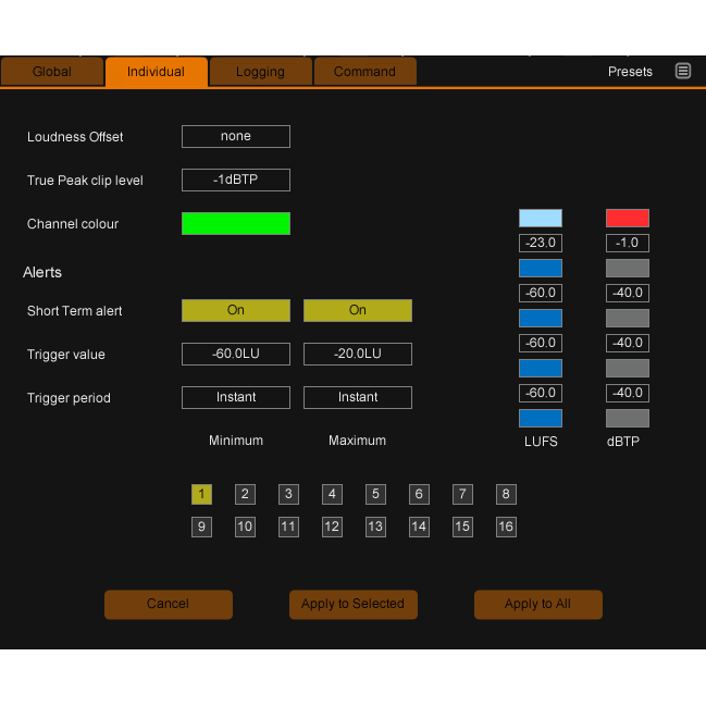 Nugen Audio MultiMonitor - Multiple-streamrealtime loudness metering