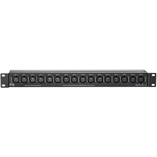 ART-P16 - 16-Ch. XLR Bal.Patch Bay