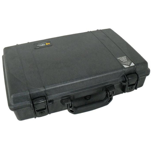 Peli 1490 - Case with foam, black, attache style case, int dim 462 x 298 x 110 mm