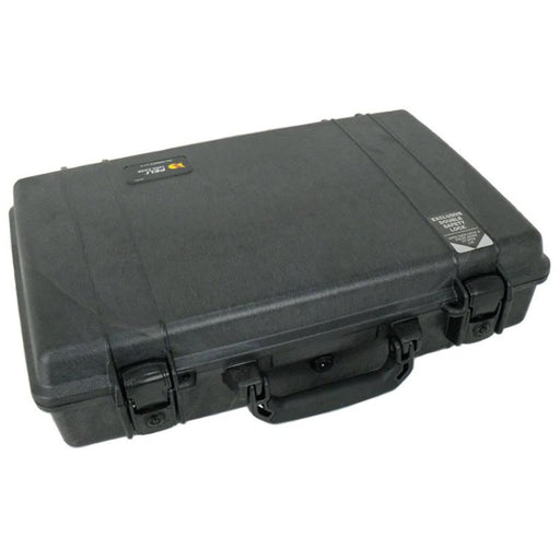 Peli 1490CC1 - Case with special insert, black, lid organiser, base tray & padded shoulder strap, int dim fits laptop 355 x 276 x 63  mm