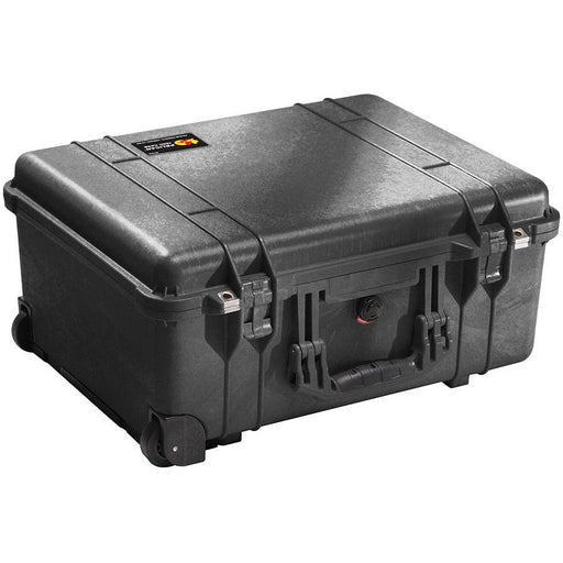 Peli 1560SC - Case with special insert, black, Inc padded laptop sleeve and padded dividers