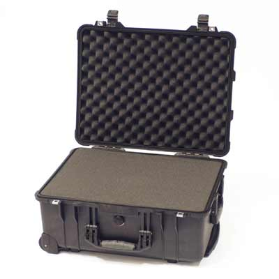Peli 1560 Case Wheels & Extendable Handle Inc. Foam