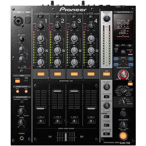 Pioneer DJM750 Professional DJ mixer with internal effects