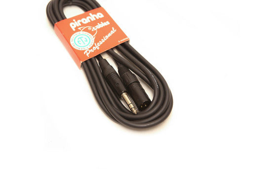 Piranha Cable 3Mtr F-XLR to Stereo Jack