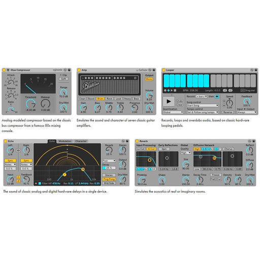 Ableton Live 10 Suite - Music production platform and Instrument Collection