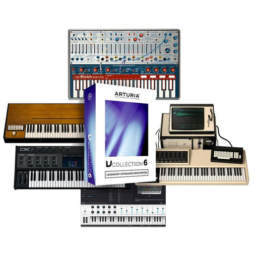 Arturia V Collection 6 - 21 Software Instruments - Download