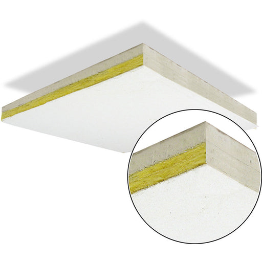 "Primacoustic Thunder Tile - T-Bar Acoustic Ceiling Tile 48"" x 24"" White"