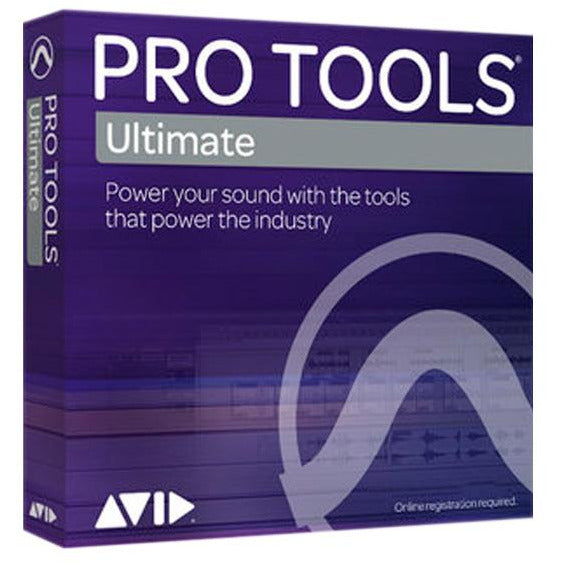 Avid Pro Tools Ultimate - 1-Year Subscription Renewal - Education