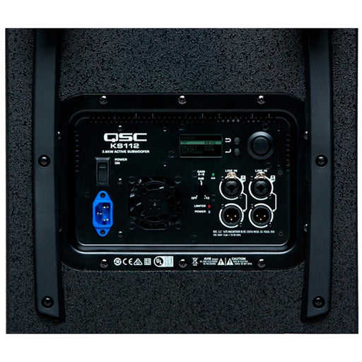 QSC KS112 - 2000W ultra compact powered subwoofer