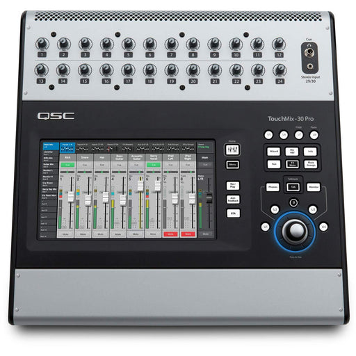 QSC TouchMix-30 Pro - 32 Input Digital Mixer with Touch-Screen