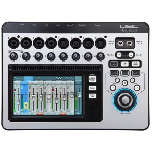 QSC TouchMix-8 - Touch-Screen Digital Audio Mixer