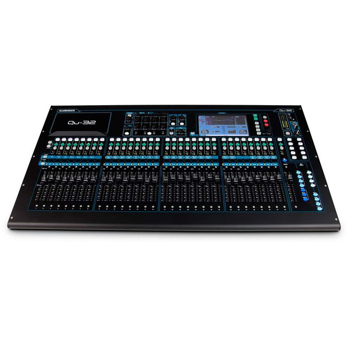 Allen & Heath Qu-32 Compact Digital Mixer, 32 input