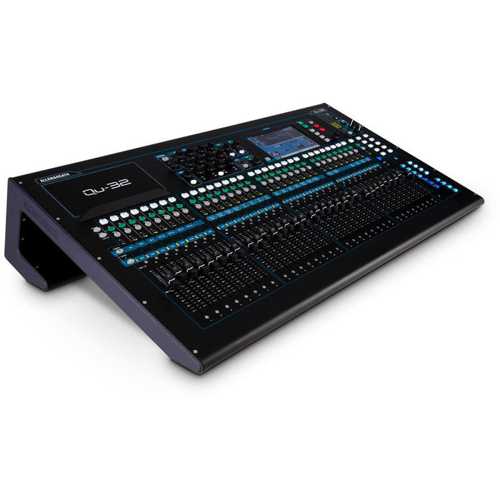 Allen & Heath QU32 Compact Digital Mixer Front Left